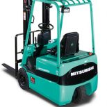 3 wheel electric forklift truck :: MITSUBISHI Serie FB1015KRT