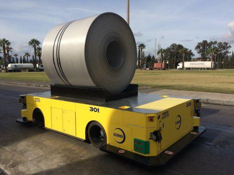30 ton AGV for coil handling DTA
