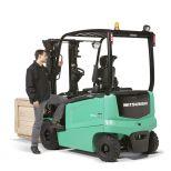 4 wheel electric forklift truck :: MITSUBISHI EDIA EX Serie FBN