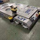 AGV 1,2 in stainless steel fully automatic with mecanum wheels :: DTA