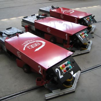 AGV for logistic trains ASTI EASYBOT