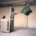 AGV stacker with tray holder reverser :: AXTER FRED SYSTEM G6 RL