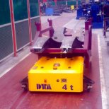 Automated guided electric pallet truck :: DTA