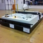 Automatic and manual shuttle carrier AGV :: AXTER FRED SYSTEM