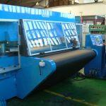 Automatic travelling head press :: Sysco CPC-BT40