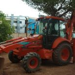 Backhoe loader :: FIAT-HITACHI FB100