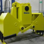 Clam bucket  for bulk materials :: STEMM 2CH-1,1