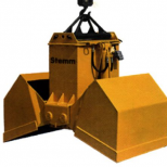Clam bucket  for bulk materials :: STEMM 2CH-2,8