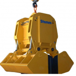Clam bucket  for bulk materials :: STEMM 4CH-0,6