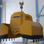 Clam bucket  for bulk materials :: STEMM 4CH-1,8