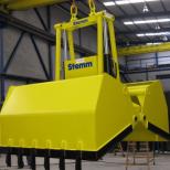 Clam bucket  for bulk materials :: STEMM CHV-1,1