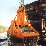 Clam bucket  for bulk materials :: STEMM CHV-1,8