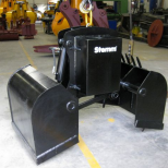 Clam bucket  for bulk materials :: STEMM 2CHA-2,8