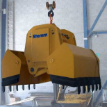 Clam bucket  for bulk materials :: STEMM 4CHA-2,8
