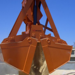 Clam bucket  for bulk materials :: STEMM CMR-1,6