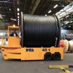 Coils transporter diesel self-propelled trailer :: DTA