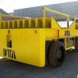 Coils transporter electric self-propelled trailer :: DTA