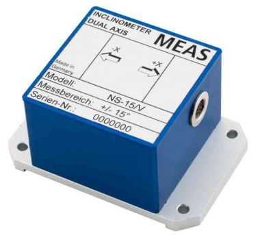 Conductive inclinometer MEAS