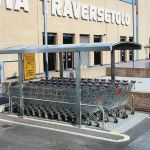 Covered shopping cart corral :: COVERCARTT BASIC
