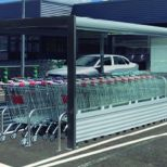 Covered shopping cart corral :: COVERCARTT OLIVER