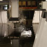 Die sinking electrical discharge machine with a special 8 meters long worktank :: ONA NX7