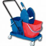 Double cleaning trolley :: Ressol Ref. 04223