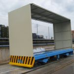 Electric AGV by induction power :: DTA
