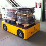 Electric self-propelled trailer :: DTA