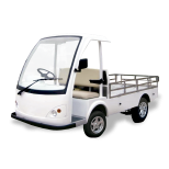 Electric vehicle for airport :: CARTTEC LQ-F090