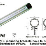 Fluorescent tube light :: Westelettric Series 1232