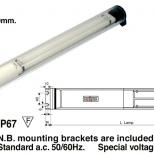 Fluorescent tube light :: Westelettric Series 1233