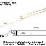 Fluorescent tube light :: Westelettric Series 123F/3