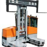 Four way side loader forklift :: HUBTEX 2120 2150