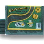 Green scouring pad :: RESSOL Ref. 00400