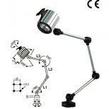 Halogen lighting for machinery :: Westelettric HSC Series