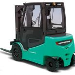 High capacity electric forklift truck :: MITSUBISHI Serie FB4050