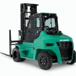 High capacity engine powered forklift truck :: MITSUBISHI DIESEL TREXIA ES