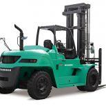 High capacity engine powered forklift truck :: MITSUBISHI FD100160N
