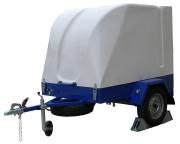 High-pressure cleaner trailer MAXTEL