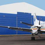 High-speed hangar fold-up door :: CHAMPIONDOOR