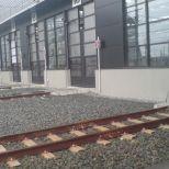 High-speed swing door for the passage trains :: SACINE