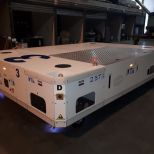 Hybrid AGV to transfer fuselage parts :: DTA