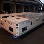 Hybrid AGV to transfer fuselage parts :: DTA