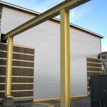 Industrial crane high-speed door :: CHAMPIONDOOR