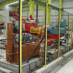 Industrial safety fences