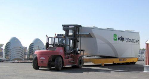 Industrial trailer DTA