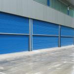 Industrial vertical sliding doors