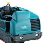 Industrial sweeper and scrubbers
