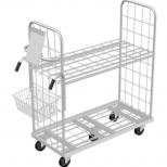 Internet order picking trolley :: MARSANZ 1500 - 2 Alturas