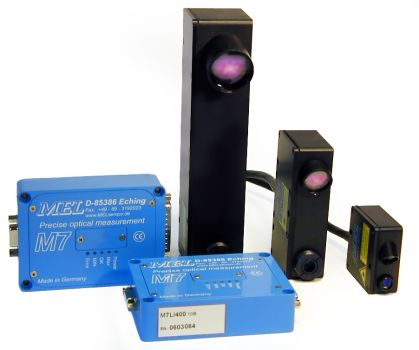 Laser distance measuring sensor MEL